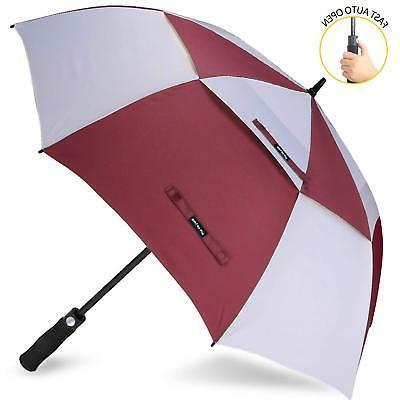 golf umbrella windproof double canopy