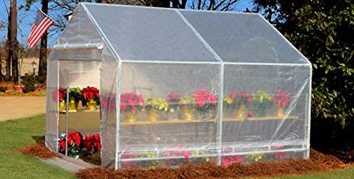 King Canopy White Greenhouse Cover for 10x10- FR5 40920