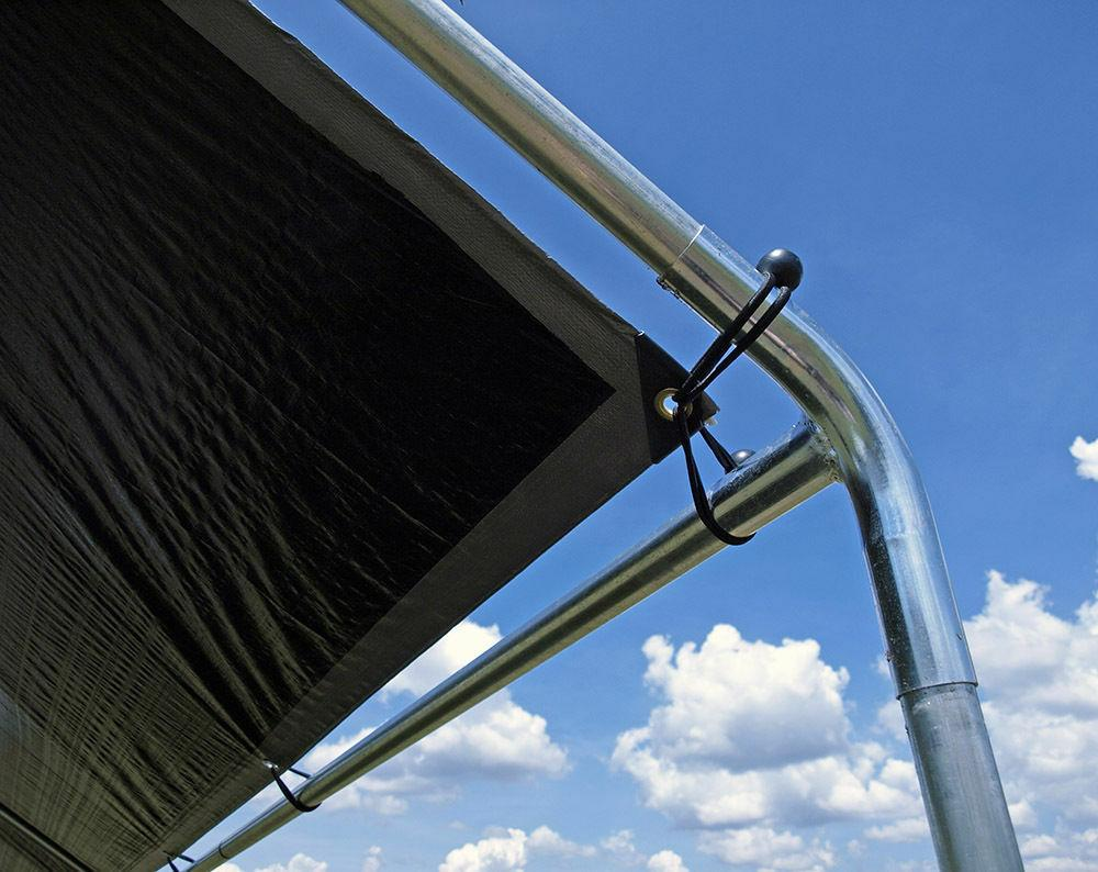 Heavy Duty Canopy Fittings- 9 for 1-3/8 inch High pitch canopy