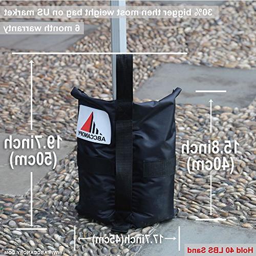ABCCANOPY Premium Instant Bags 4-40lb