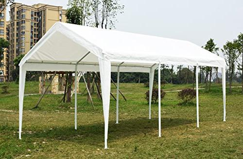 Quictent 20'X10' PE Resistant Party Wedding Tent Canopy