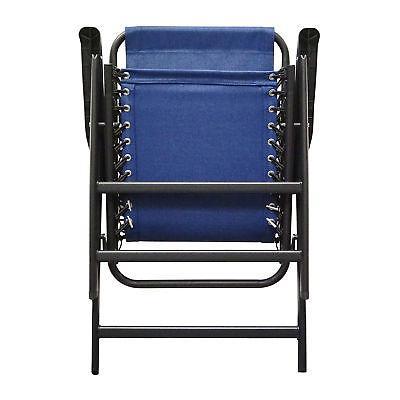 Caravan Steel Chair, Blue