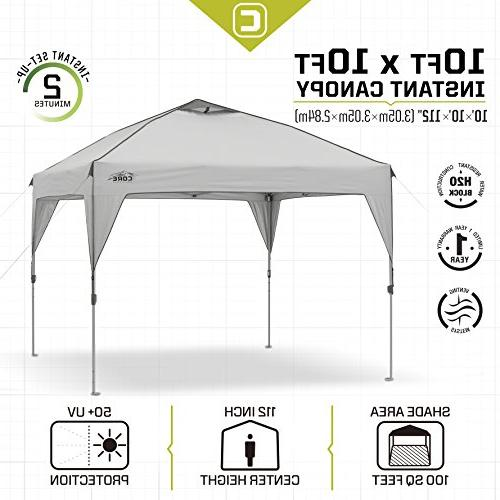 Ozark Trail 10' x 10' Screen with 2 Chairs Value Bundle