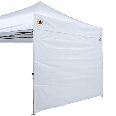 10x20 Feet 10X10 black Instant Canopy SunWall for 10x10 Feet 15+Colors