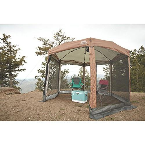 Coleman Instant Canopy 12'X10' Tan/Brown