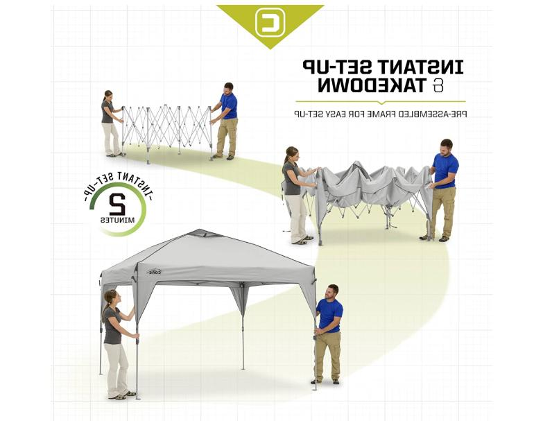 Instant Pop-Up Tent with Bag 10'
