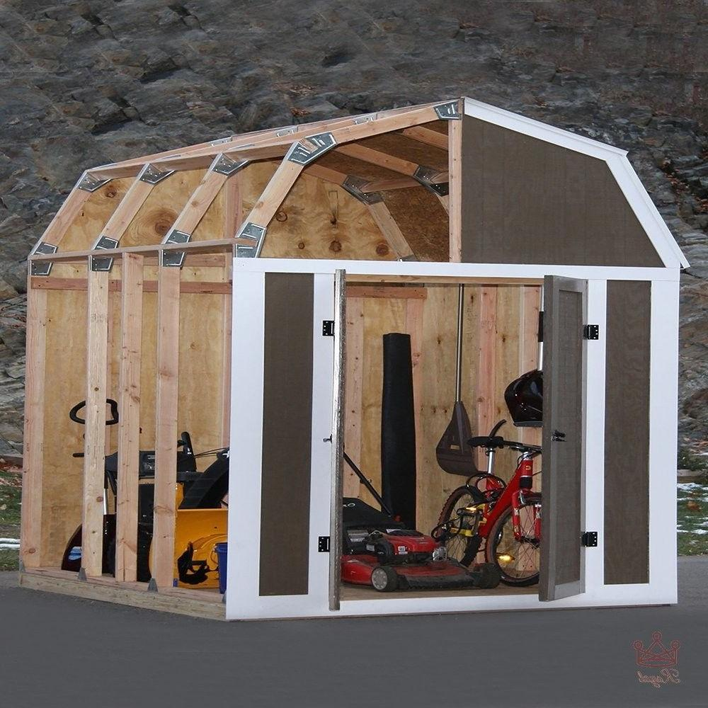 Shed Kit Garden Wood Tool Instant Kit