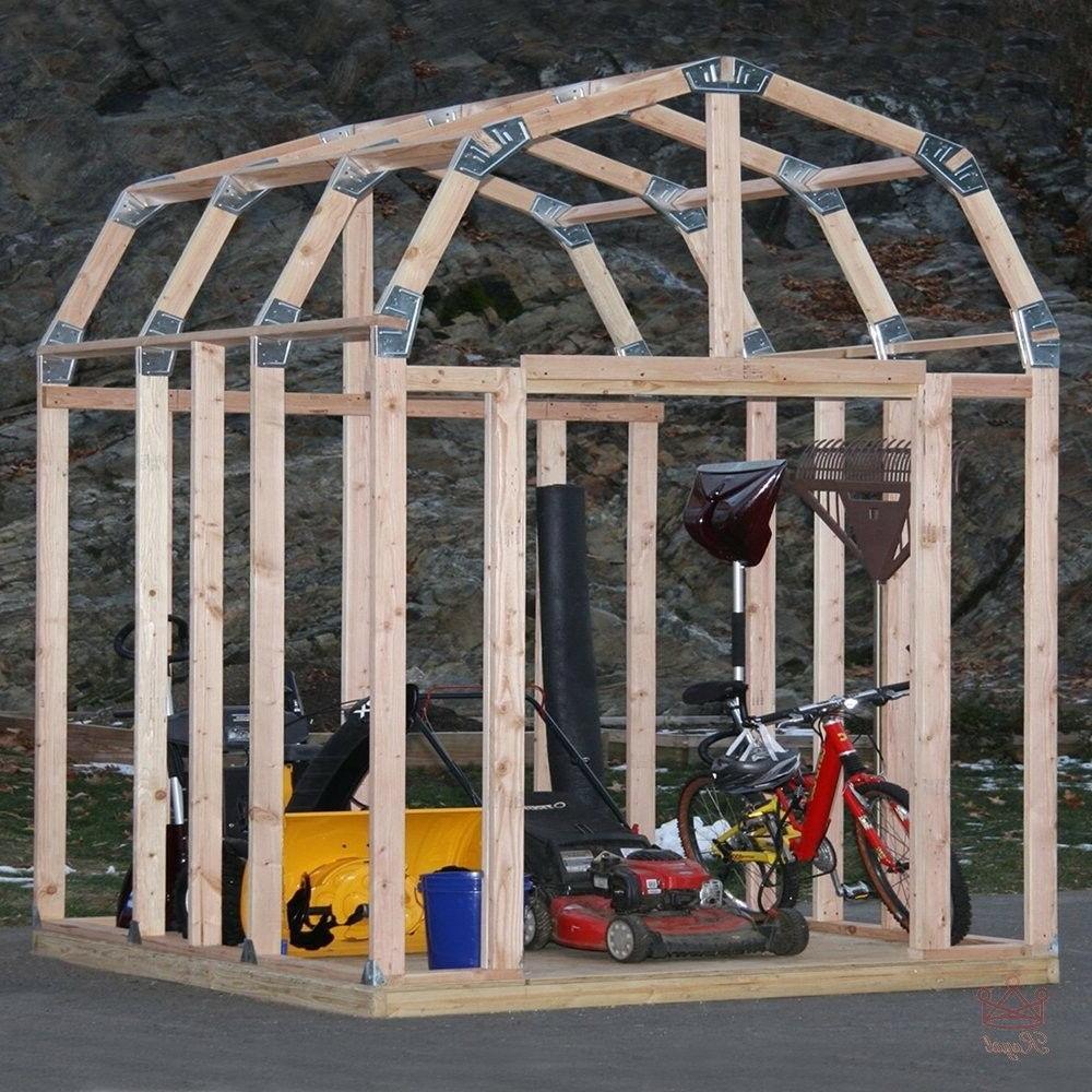 Shed Outdoor Garden Backyard Tool Framing