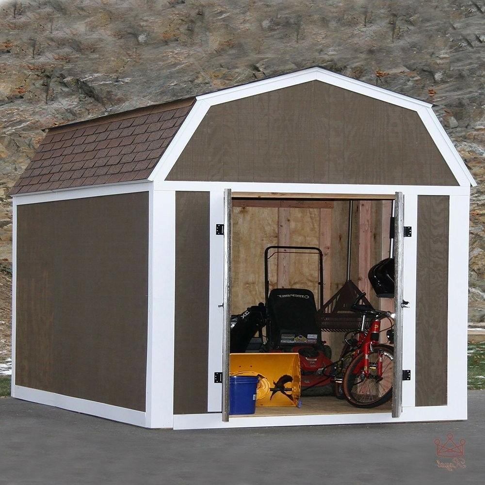 Shed Kit Garden Wood Backyard Tool Instant Framing Kit