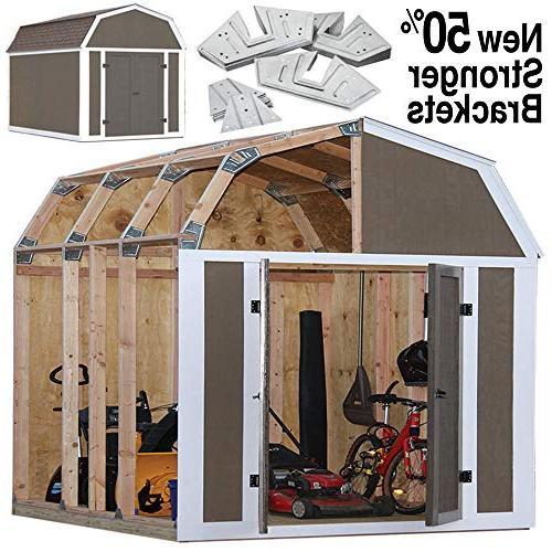 Shed Kit Outdoor Storage Garden Wood Backyard Utility Tool I