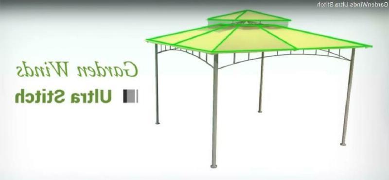 Garden Gazebo Replacement Canopy, Beige