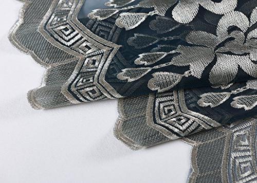 Aside Wave Symmetric Artistic Pattern Curtains -128160352958517C1PGB