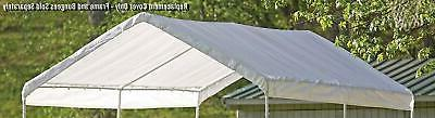 maxap canopy replacement cover white 10 x