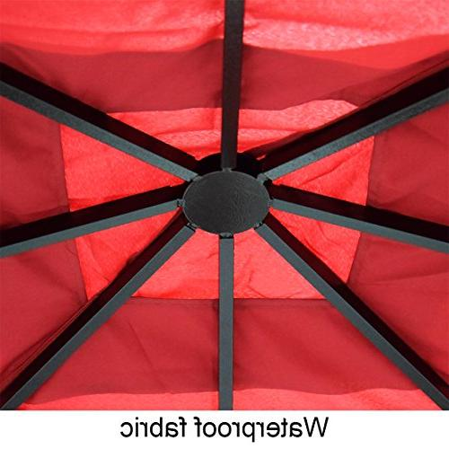Quictent with Screened Gazebo Fully for Backyard 100%
