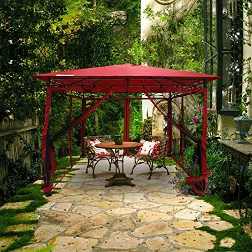 Quictent with Mosquito Screened Top Gazebo for and Backyard 100%