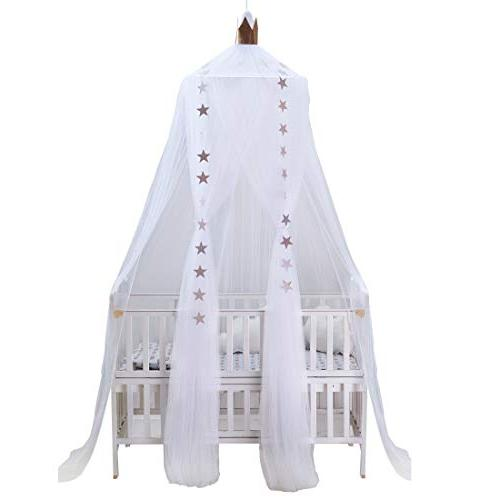 mosquito net bed canopy round