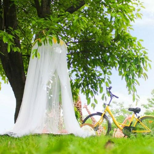Mosquito Canopy Tulle Yarn Tent Round Curtain For