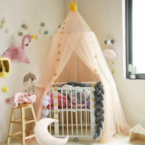 Mosquito Net Tulle Yarn Tent Round For Kids