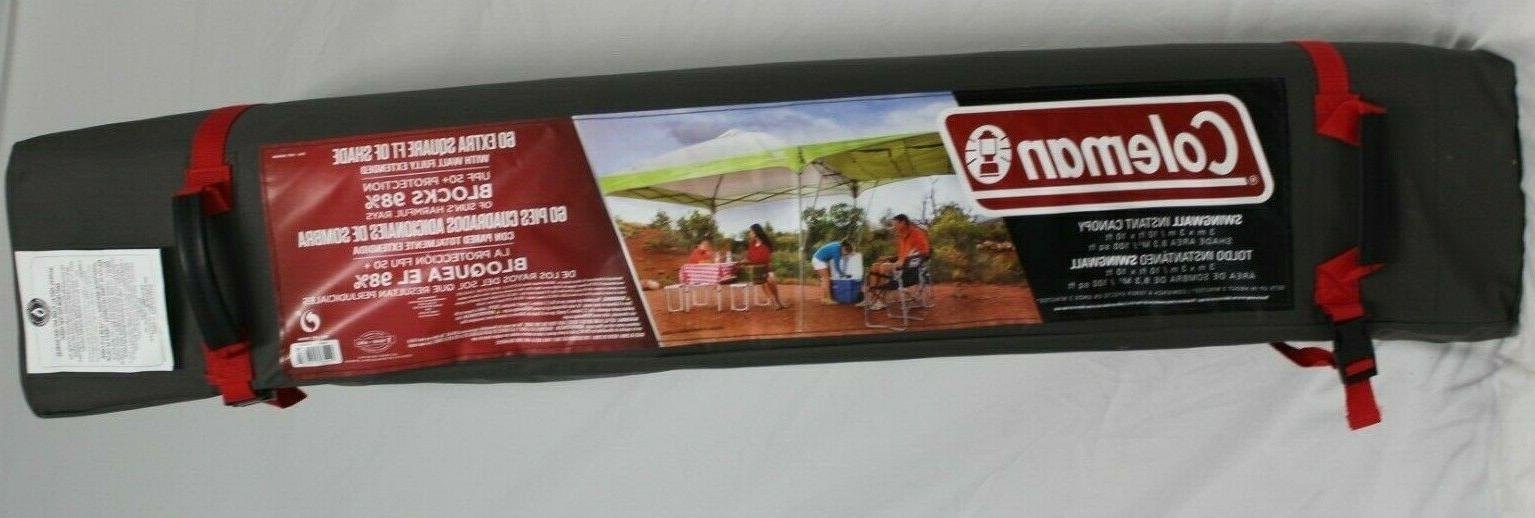 *NEW* Coleman 10 ft x 10 ft Single Swing-Wall Canopy Shelter