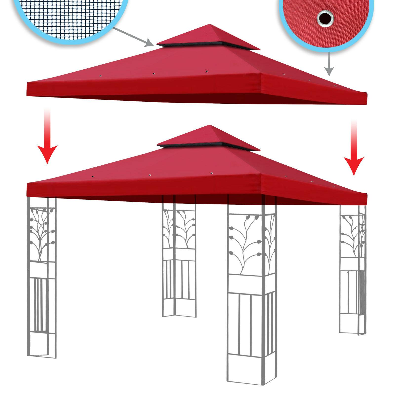 New 10x10' Replacement Canopy Top Sunshade Polyester