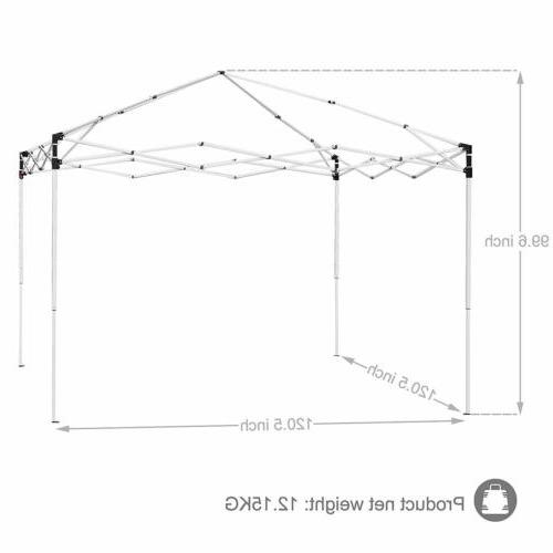 Canopy Up Party Tent FT Adjustable Bag Outdoor