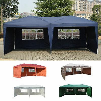 outdoor 10 x20 ez pop up gazebo