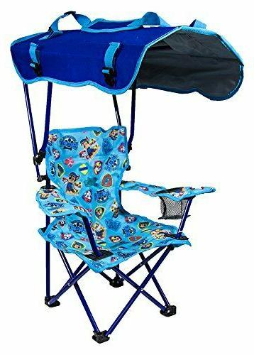 outdoor paw patrol canopy chair foldable children