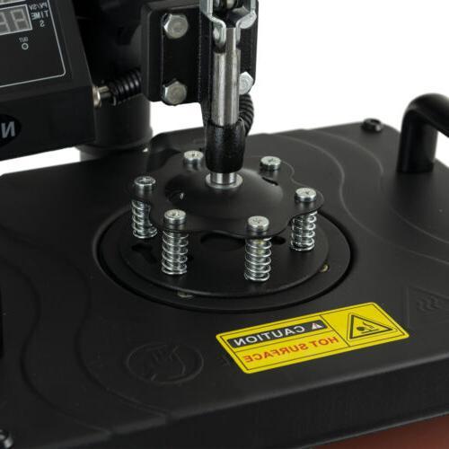 12x15 In Heat Press Machine 360 Away Commercial