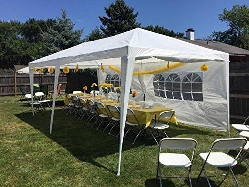 Quictent X 20' Party Tent Canopy with 6
