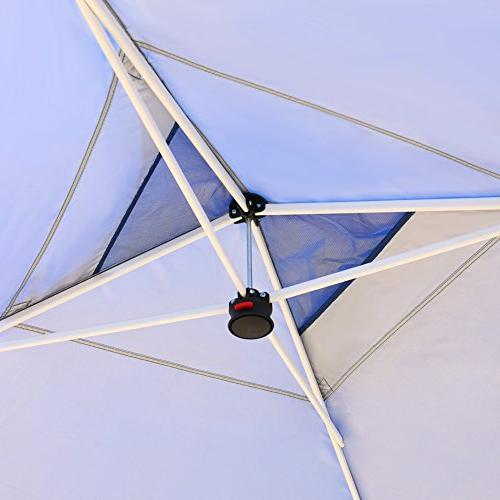 CROWN SHADES 10ft x 10ft Outdoor up Portable Folding Canopy with Carry Bag,