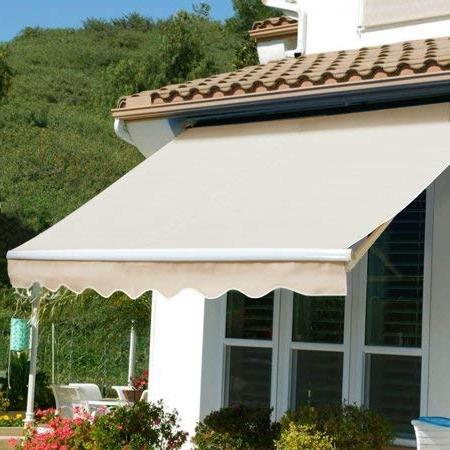 patio manual retractable sun shade