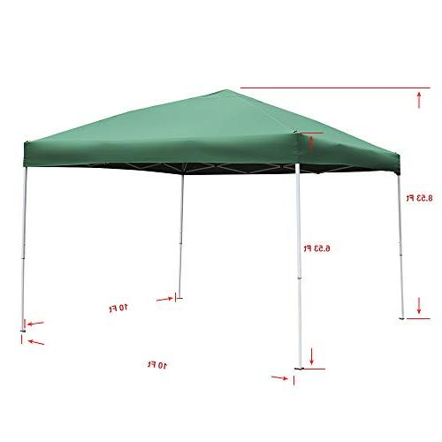Green up Canopy - 10 x Party Tent Outdoor Leg