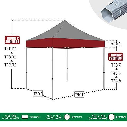 Eurmax X 10 up Canopy Legs Grade Tent Roller Bag