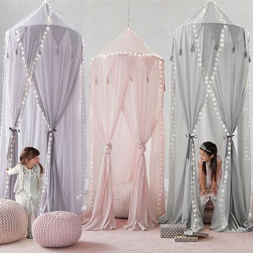 Princess Baby Bed Kids Curtain Dome