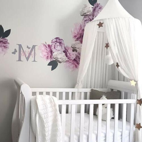 Princess Bed Canopy Hanging Lace Net Bedding