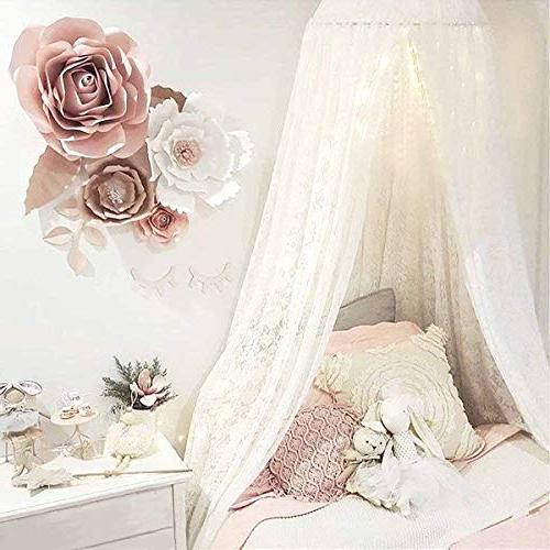 princess girls bed canopy castle