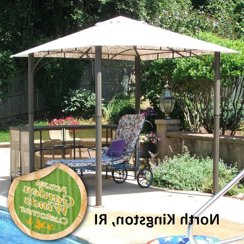 Garden Winds Canopy for America Barzebo Gazebo