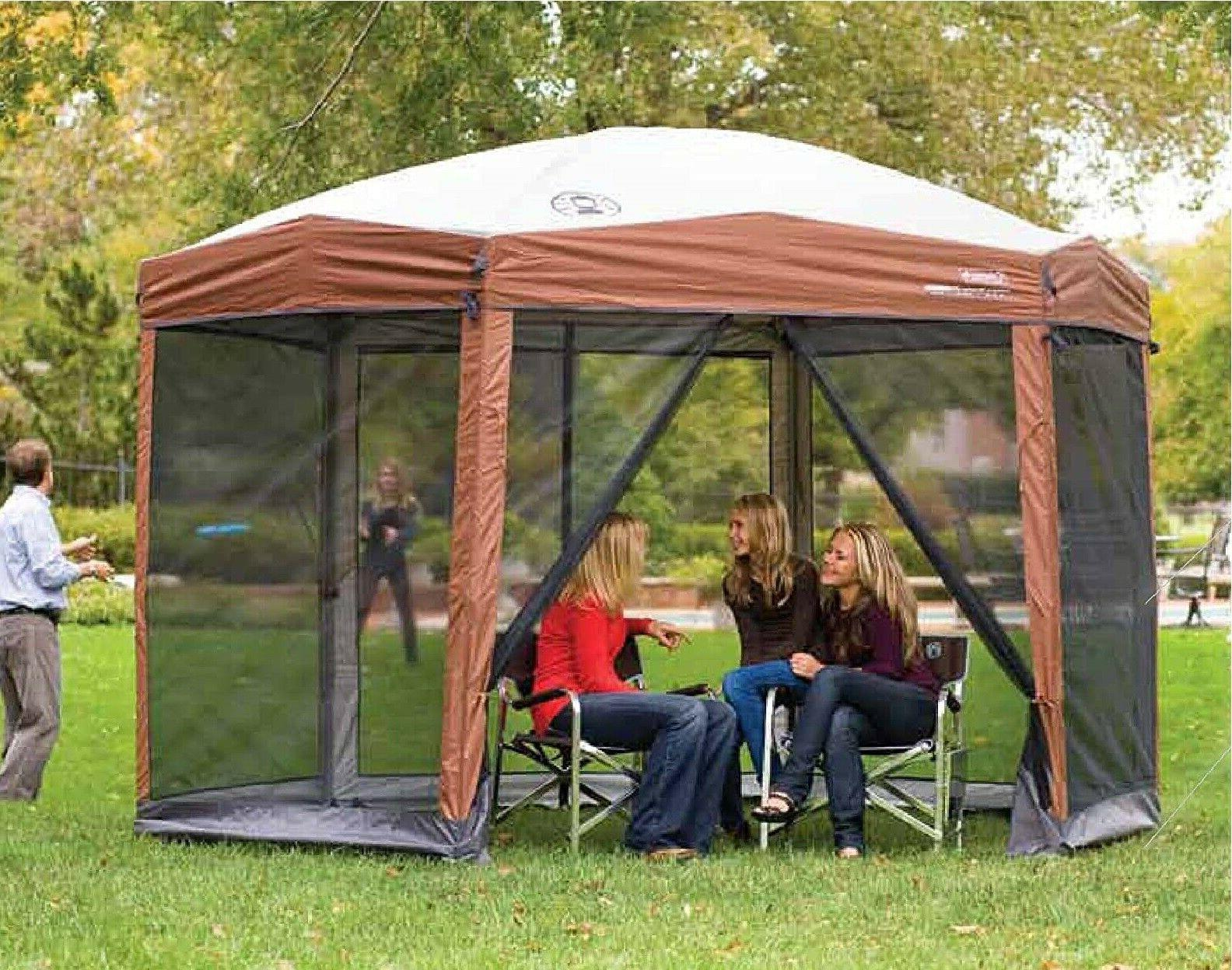 Coleman Canopy with Instant house Second