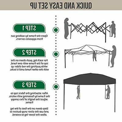 Punchau Canopy Tent 10 UV Coated, Straight