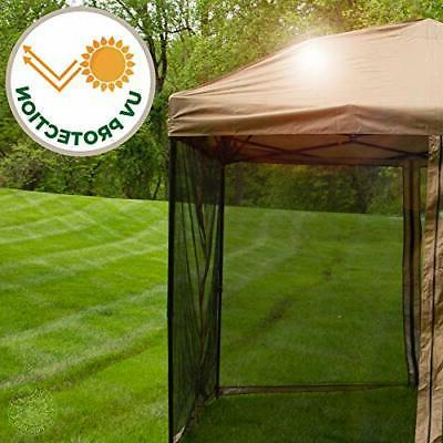 Punchau Pop Canopy Tent 10 x 10 Feet, - UV Coated, Leg,
