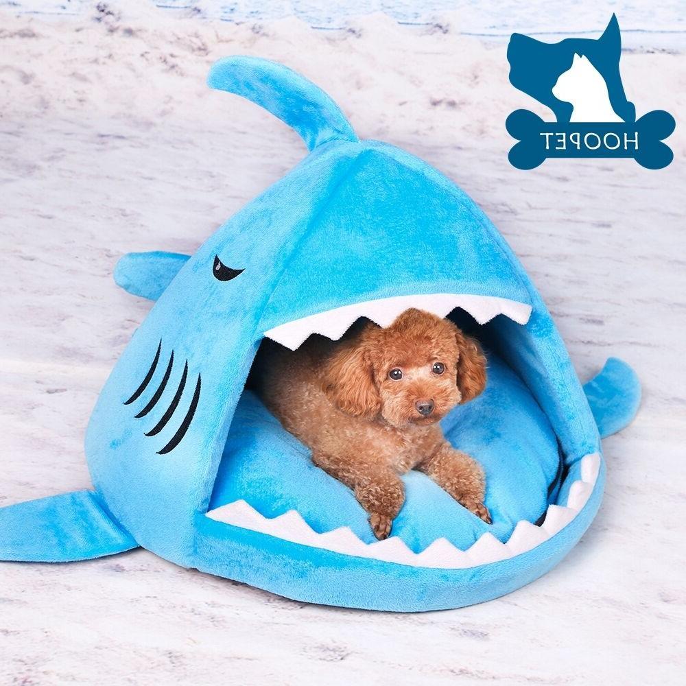 shark dog cat pet canopy teepee tent