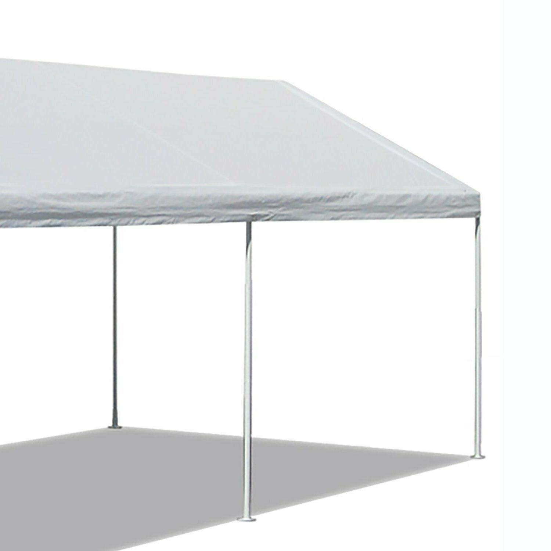 Caravan Canopy Sports 10'x20' Domain Carport Garage White Du