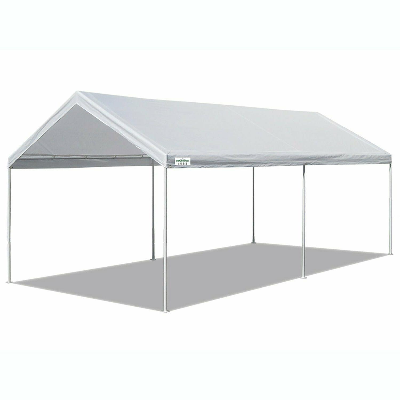 sports 10 x 20 domain carport garage