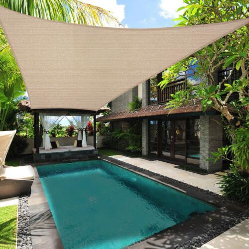 Sun Shade Block Pool Awning Cover