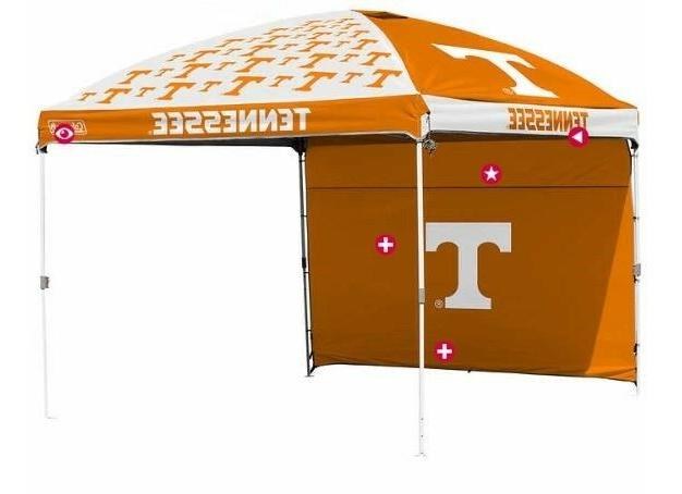 tennessee volunteers ncaa canopy tent wall tailgating