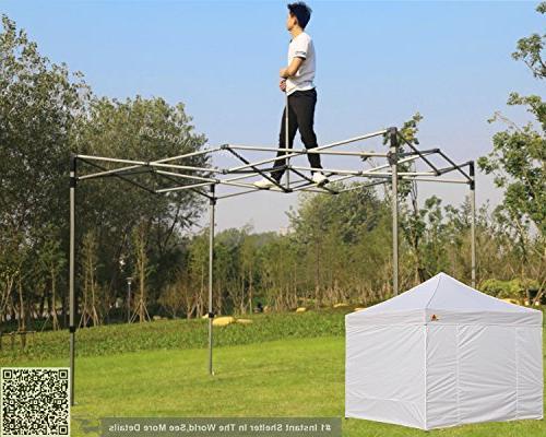 ABCCANOPY Tent Stake Garden Galvanized Non-Rust Pop Pergolas Accessories Gazebo Stopper 10ft Ropes top