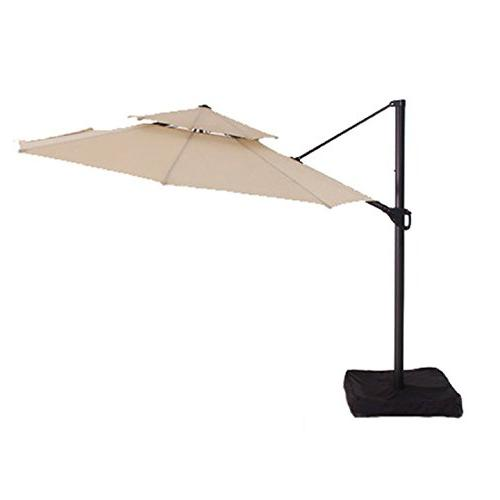 two tiered offset umbrella replacement