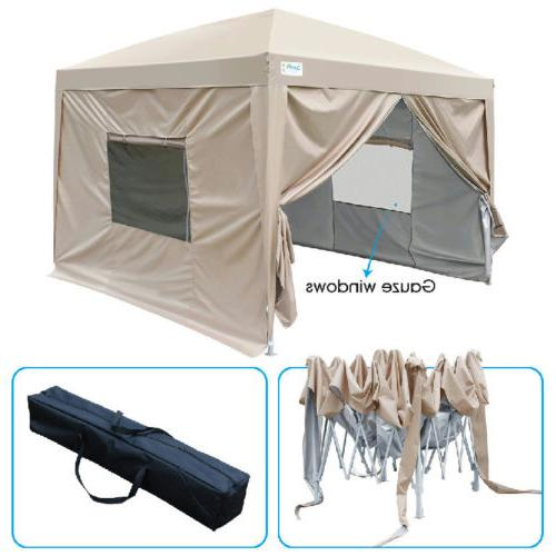 upgraded 8x8 ez pop up canopy tent