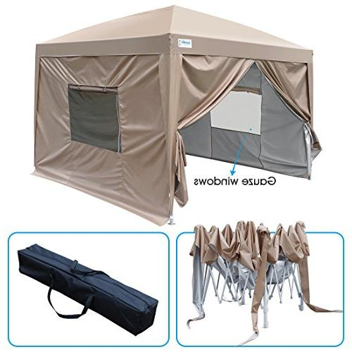 upgraded privacy ez pop canopy