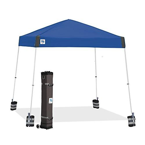 vista canopy royal blue frame